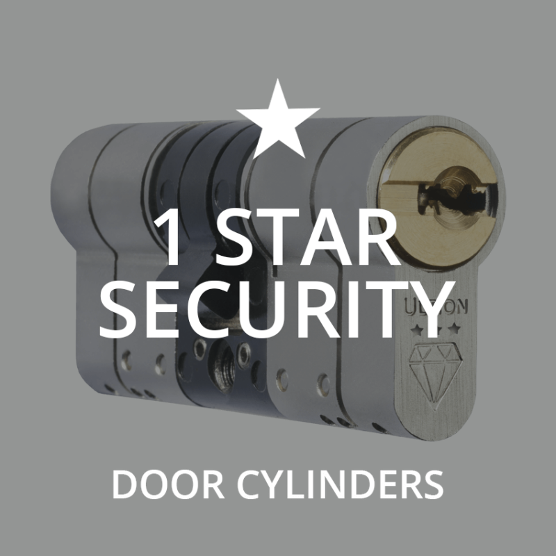 1 star security cylinders