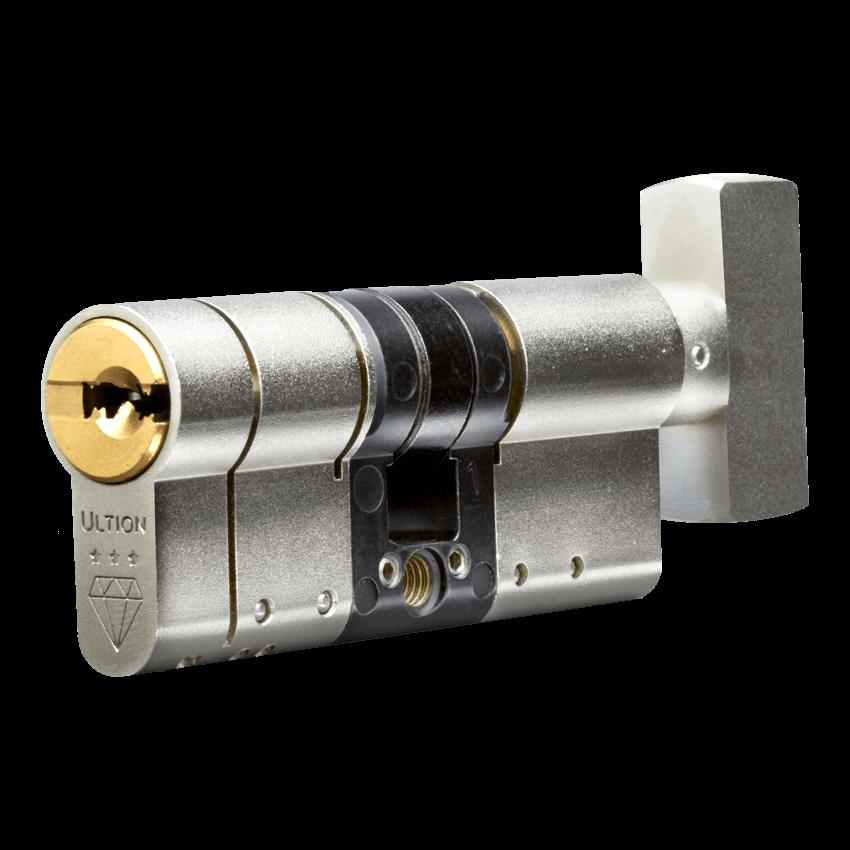 Ultion 3 Thumbturn Keyed Alike 2 Euro Cylinders