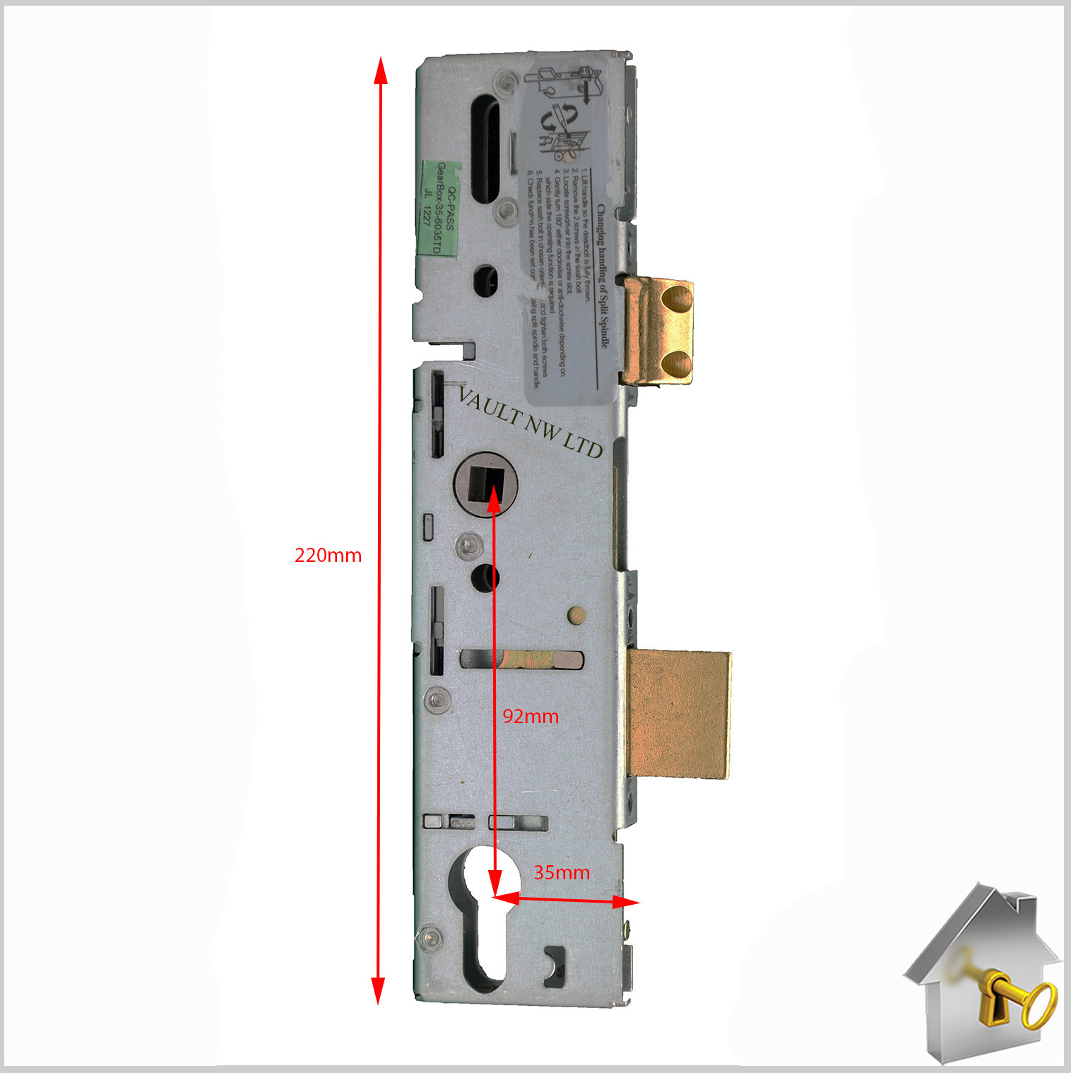 Era Saracen Surelock Gearbox Centre Case With Thin