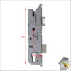 Fuhr Split Spin FR of Latch Dimensions 35mm comple