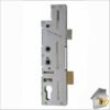 Fullex Crimebeater Twin Spindle Deadbolt BK of Latch Compl