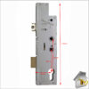 Fullex Crimebeater Twin Spindle Deadbolt FR of Latch 45 Dimen Compl