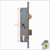 Fullex SL16 FR of Latch Dimensions Compl