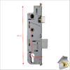 GU Old style Fr of Latch 35mm Dimen Complete