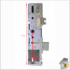 Vectis Dead Lock Dimensions 35mm Bkground Fr of Latch Compl