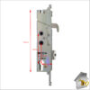 Yale G2000 Fr of Latch Dimens compl