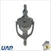 Urn Knocker Chrome with Spyhole