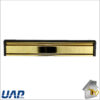 Letter Plate Slim Line PVD Gold