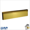 Letterplate All Alumin Anodised Gold
