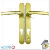 Hoppe Door Handle Gold Lever Lever