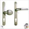 Vita Door Handle Brass Lever pad