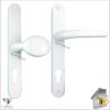 Vita Door Handle White Lever pad