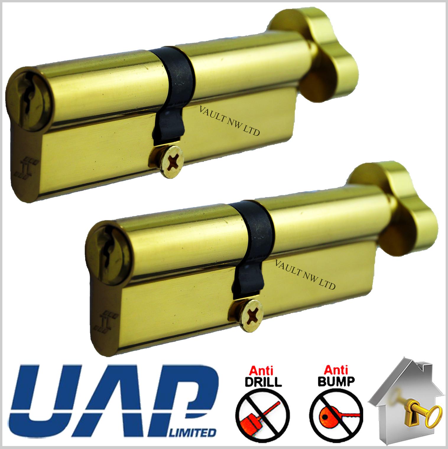 Paired Keyed Alike Thumb Turn Euro Cylinders Door Uap